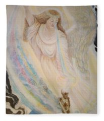 Flying Lamb Productions   Angel Of Mercy Fleece Blanket