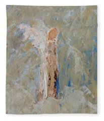 Angel Out Of Nowhere Fleece Blanket