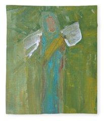 Angel Praise And Worship Fleece Blanket