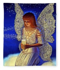 Angel Prayer Fleece Blanket