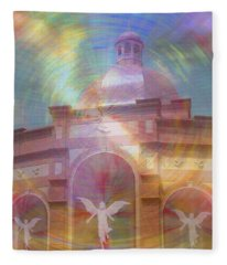 Angel Sanctuary Fleece Blanket