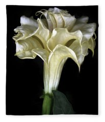 Angel Trumpet Fleece Blanket