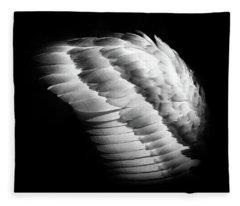 Angel Wing Fleece Blanket