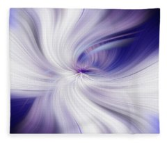 Angel Wings Abstract. Power Of Light Fleece Blanket