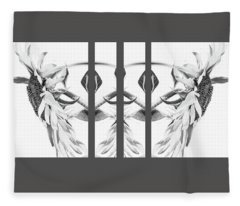 Angel Wings - Fleece Blanket