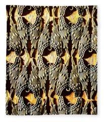 Angelic Patterns Fleece Blanket
