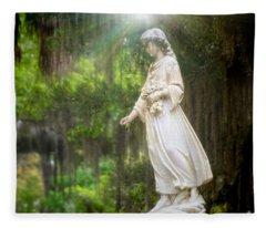 Angels Of Bonaventure Fleece Blanket