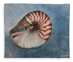 Angel's Seashell  Fleece Blanket