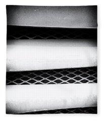 Angle Of Venting Iv Fleece Blanket