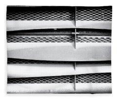 Angle Of Venting V Fleece Blanket