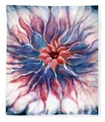 Angora Bloom Fleece Blanket