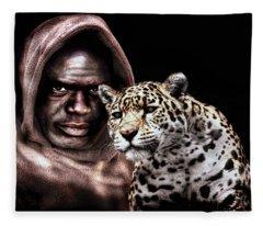 Animal Totem Fleece Blanket