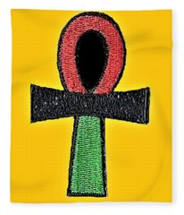 Ankh Life Fleece Blanket