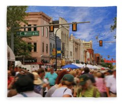 Ann Arbor Art Fair  Fleece Blanket