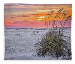 Anna Maria Island Sunset Fleece Blanket