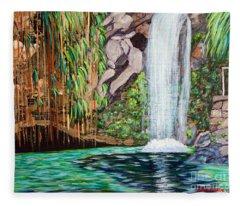 Annandale Waterfall Fleece Blanket