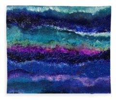 Anne's Abstract Fleece Blanket