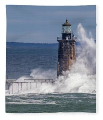 Another Day - Another Wave Fleece Blanket