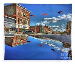 Another Pennsylvania Avenue Fleece Blanket