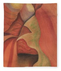 Antelope Canyon 2 Fleece Blanket