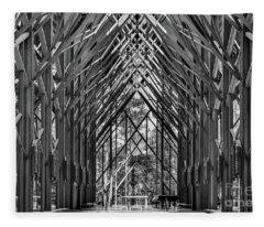 Anthony Chapel Fleece Blanket