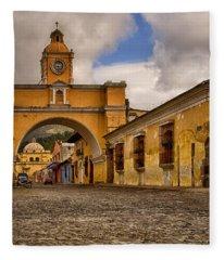 Antigua, Guatemala Fleece Blanket