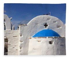 Antiparos Island Greece  Fleece Blanket