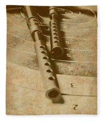 Antique Defence  Fleece Blanket