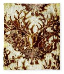 Antler Antiquities Fleece Blanket