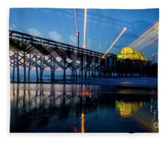 Apache Pier Fleece Blanket