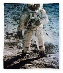 Apollo 11 Buzz Aldrin Fleece Blanket