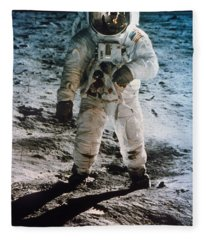 Apollo 11 Buzz Aldrin Fleece Blanket