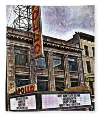 Apollo Theatre, Harlem Fleece Blanket