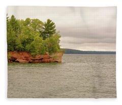 Apostle Islands Fleece Blanket