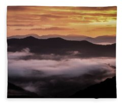 Appalachian Glow Fleece Blanket