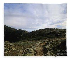 Appalachian Trail - Mount Lincoln - White Mountains New Hampshire Usa Fleece Blanket
