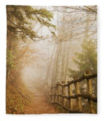 Appalachian Trail Fleece Blanket