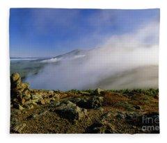 Appalachian Trail - White Mountains New Hampshire Usa Fleece Blanket