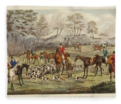 Apperley, Charles James The Life Of A Sportsman. By Nimrod. Fleece Blanket