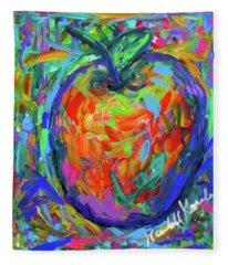 Apple Splash Fleece Blanket