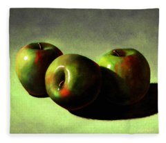 Apples Fleece Blanket