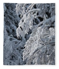 April Snow Fleece Blanket