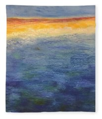 Aquamarine Fleece Blanket