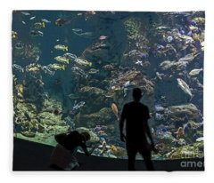 Aquarium Fleece Blanket