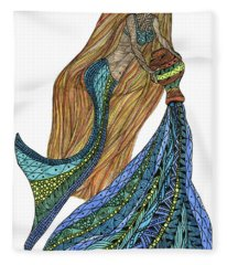 Aquarius Fleece Blanket