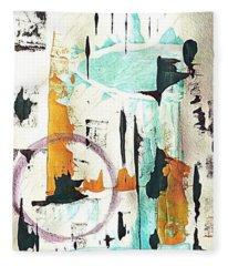 Aquarius  Fleece Blanket