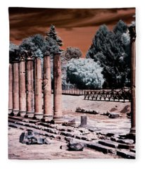 Aquileia, Roman Forum Fleece Blanket