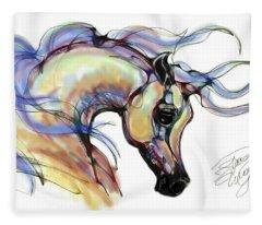 Arabian Mare Fleece Blanket
