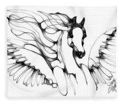 Arabian Angel Fleece Blanket