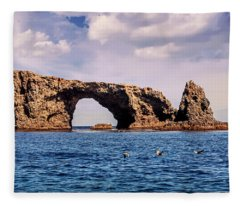 Arch Rock Fleece Blanket